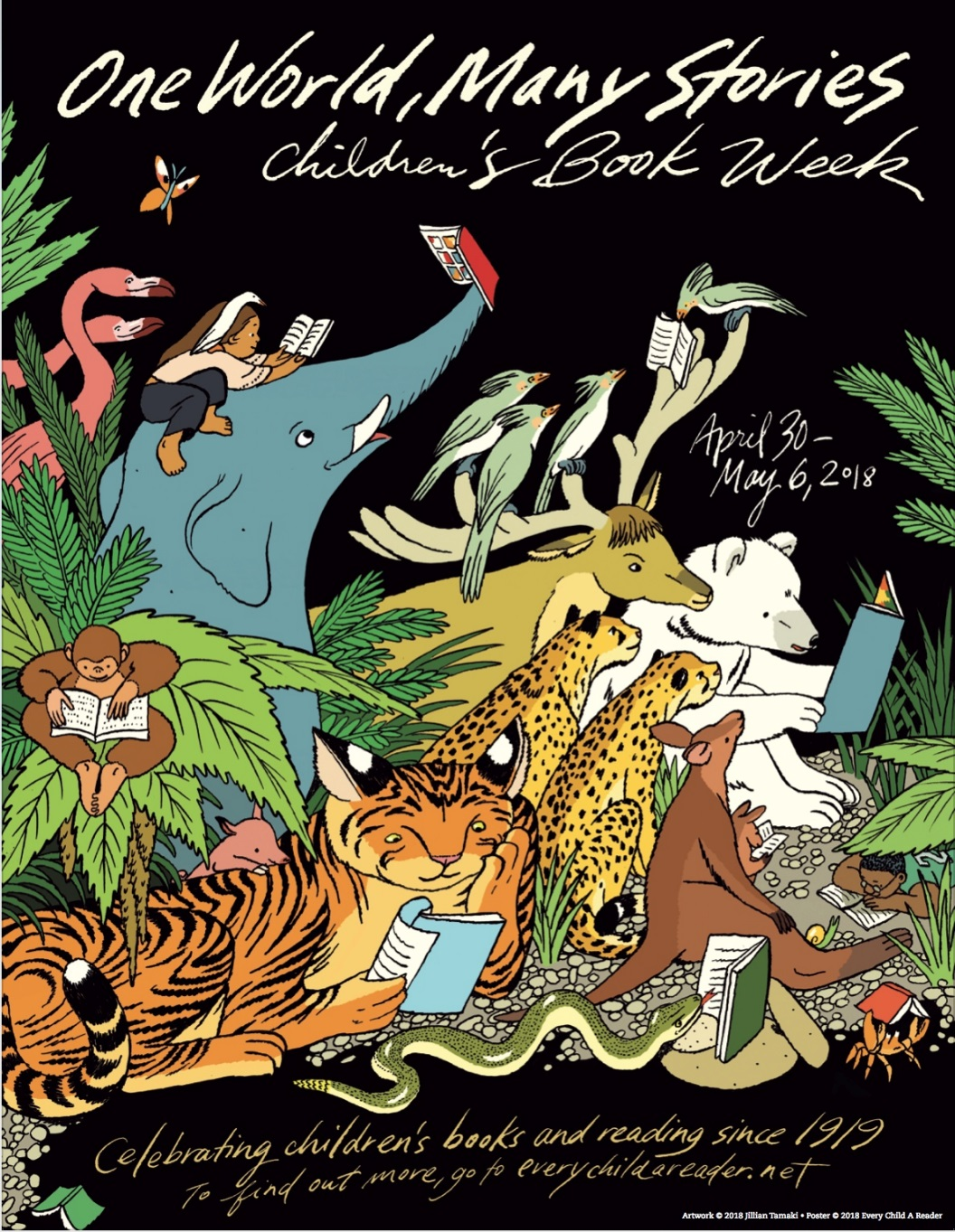 poster for Children's Book Week 2018